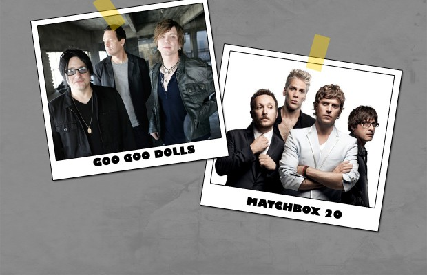 Goo Goo Dolls and Matchbox Twenty