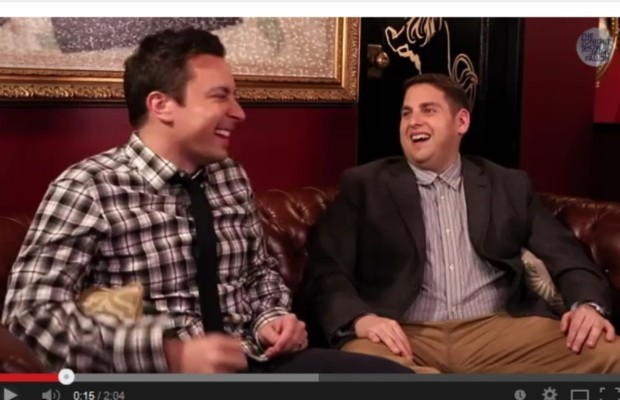 "Jimmy Fallon and Jonah Hill's ""hashtag"" conversation!"