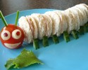 Kid Food Caterpillar