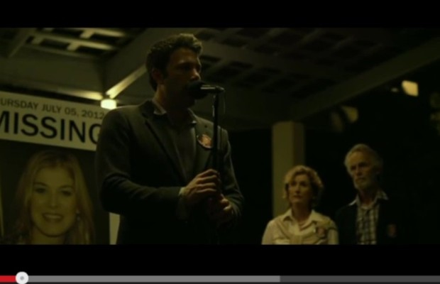 "First trailer for ""Gone Girl"""