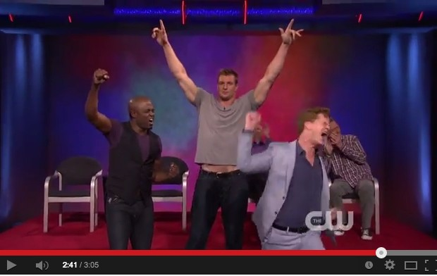 """Did You See Gronk Dancing on """"Whose Line Is It Anyway?"""""""