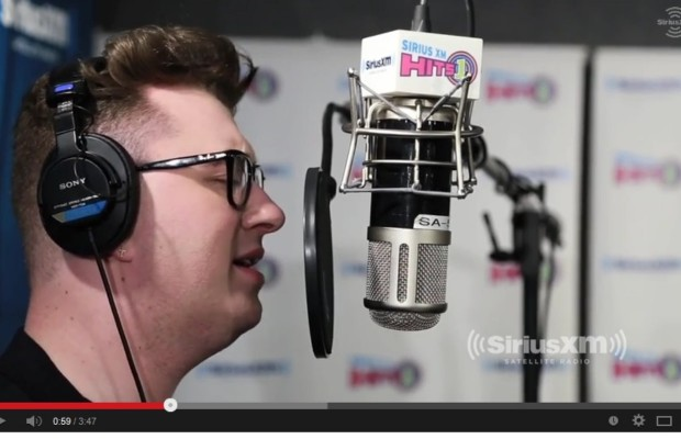 """Sam Smith covers Whitney's """"How Will I Know"""""""