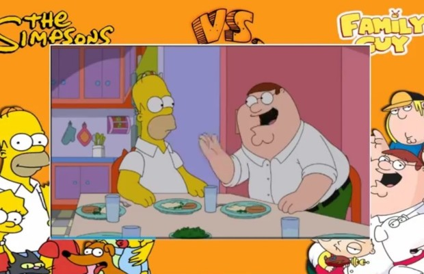 The Simpson's /Family Guy crossover!